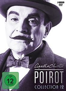 Agatha Christie - Poirot Collection 12 [5 DVDs]