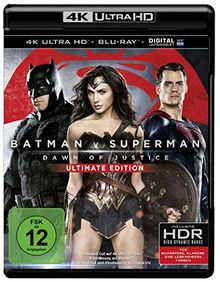 Batman v Superman: Dawn of Justice (4K Ultra HD) [Blu-ray]