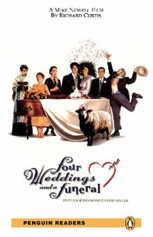 Penguin Readers Level 5 Four Weddings and a Funeral (Penguin Readers (Graded Readers))