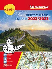 Michelin Straßenatlas Deutschland & Europa 2022/2023: Straßenkarte 1:300.000 (MICHELIN Atlanten)