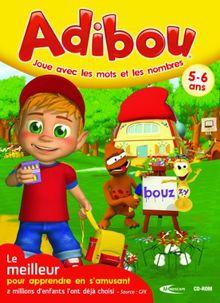 Adibou joue avec les mots et les nombres 5-6 ans 2010/2011 (DVD seul)