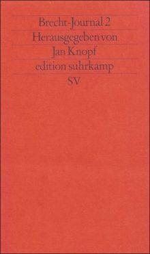 Brecht-Journal 2 (edition suhrkamp)