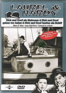 Laurel & Hardy - Als Matrosen / ...gehen vor Anker / ...kaufen ein Schiff