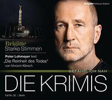 """Die Reinheit des Todes: BRIGITTE Hörbuch-Edition - Starke Stimmen """"Die Krimis - Gefährlich nah"""""""