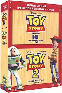 Bipack Toy Story 1 & 2 [FR Import]