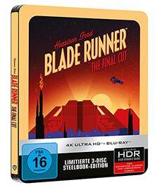 Blade Runner: Final Cut - 4K UHD - Steelbook [Blu-ray]