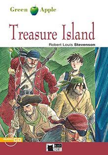 Treasure Island: Englische Lektüre für das 4. und 5. Lernjahr. Buch + Audio-CD (Green Apple)