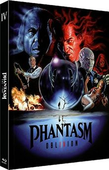 Phantasm IV: Oblivion - Das Böse 4 - 2-Disc Limited Uncut Edition (Blu-ray + DVD) - Limitiertes Mediabook auf 666 Stück, Cover C