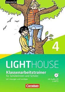 English G LIGHTHOUSE - Allgemeine Ausgabe: Band 4: 8. Schuljahr - Klassenarbeitstrainer mit Lösungen und CD-Extra: CD-ROM und CD auf einem Datenträger