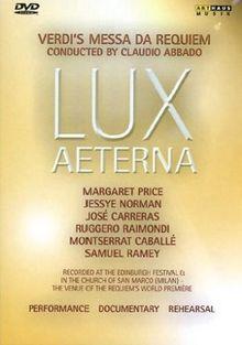 Lux Aeterna - Verdi's Messa da Requiem [2 DVDs]