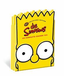 Die Simpsons - Die komplette Season 10 (Kopf-Tiefzieh-Box, Collector's Edition, 4 DVDs)