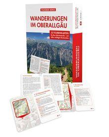 Wanderungen im Oberallgäu: 32 Karten in der Box