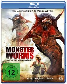 Monster Worms - Angriff der Monsterwürmer [Blu-ray]
