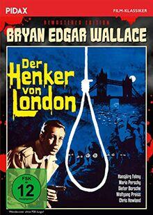 Bryan Edgar Wallace: Der Henker von London - Remastered Edition / Spannender Gruselkrimi mit Starbesetzung + Bonusmaterial, inkl. Hörspielfassung (Pidax Film-Klassiker)