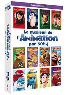 Coffret le meilleur de l'animation par sony 12 films