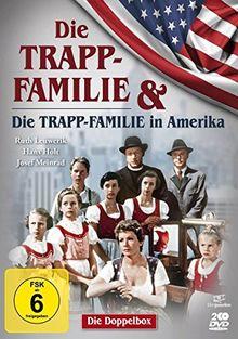 Die Trapp-Familie & Die Trapp-Familie in Amerika - Doppelbox (Filmjuwelen) [2 DVDs]