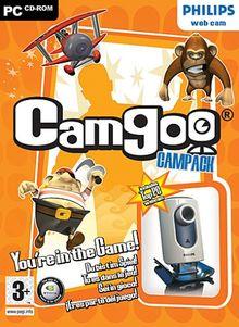 Camgoo Campack, CD-ROM Für Windows 98, ME, XP, 2000 u. Webcam