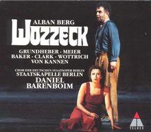 Alban Berg: Wozzeck (Oper) (Gesamtaufnahme) (2 CD)
