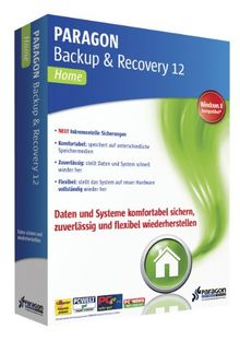 Paragon Backup & Recovery 12 Home - inkl. Update auf Version 14