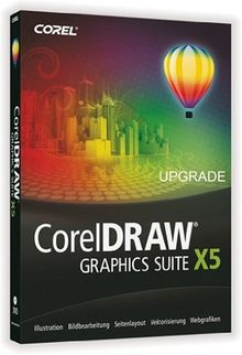 CorelDRAW Graphics Suite X5 (Upgrade)