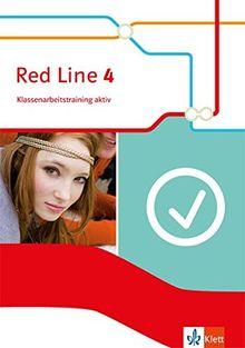 Red Line / Ausgabe 2014: Red Line / Klassenarbeitstraining aktiv mit Audio-CD und Multimedia-CD 8. Schuljahr: Ausgabe 2014