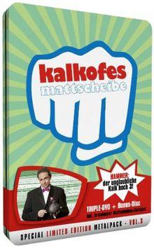 Kalkofes Mattscheibe Vol. 3 (Special Limited Edition, 3 DVDs, Metalpack)