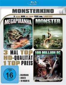 Monsterkino (3 Filme) [Blu-ray]