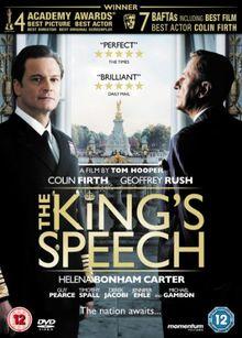 The Kings Speech [DVD] [UK Import]