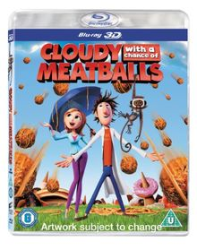 Cloudy with a Chance of Meatballs (Blu-ray 3D) [UK Import]