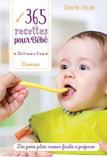 365 recettes pour bébé