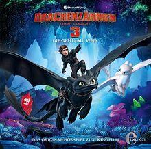 Drachenzähmen leicht gemacht 3 - Die geheime Welt - Das Original-Hörspiel zum Kinofilm