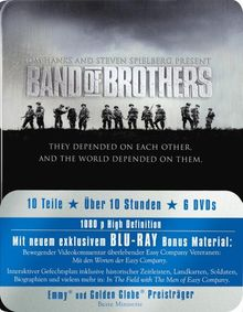 Band of Brothers - Box/Metal-Pack [Blu-ray]