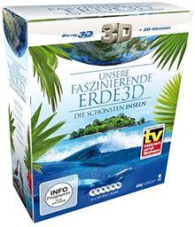 Unsere faszinierende Erde 3D - Die schönsten Inseln, Die Komplettbox (Limited Edition auf 6 3D Blu-rays, exklusiv bei Amazon.de) (SKY VISION) [3D Blu-ray + 2D Version]