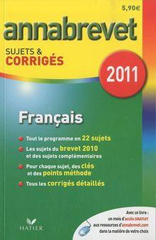 Francais 2011 Sujets Corriges FL
