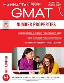 Number Properties GMAT Strategy Guide, 6th Edition (Manhattan Prep Instructional Guide)