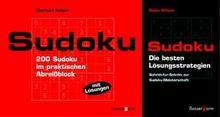 Sudoku-Set. Block und Lösungsbuch