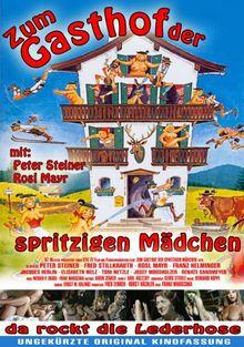 Zum Gasthof der spritzigen Mädchen ( ungekürzte Original-Kinofassung )