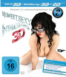 My Sweet Sexy Interactive Girl 3D Edition 2 [Blu-ray]