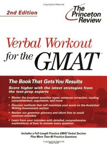 Verbal Workout for the GMAT, 2nd Edition (Graduate School Test Preparation)
