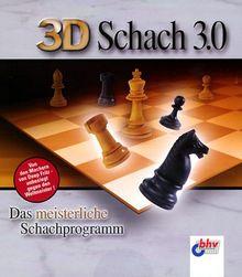 3D Schach 3.0, 1 CD-ROM Das meisterliche Schachprogramm für Windows 95/98/Me/2000/NT 4.x/XP