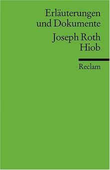 Erläuterungen und Dokumente zu Joseph Roth: Hiob