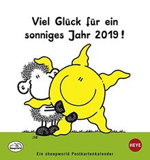 Sheepworld Postkartenkalender Kalender 2019 Von Heye