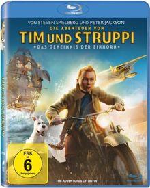 Die Abenteuer von Tim & Struppi - Das Geheimnis der Einhorn [Blu-ray]