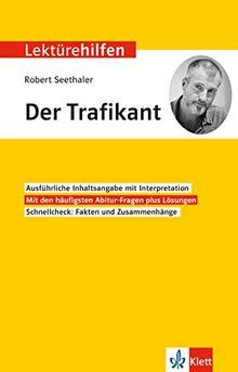 """Lektürehilfen Robert Seethaler """"Der Trafikant"""": Interpretationshilfe für Oberstufe und Abitur"""