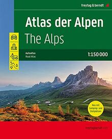 Atlas der Alpen, Autoatlas 1:150.000 (freytag & berndt Autoatlanten)