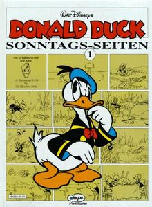 Donald Duck, Sonntags-Seiten, Bd.1, 10. Dezember 1939 bis 20. Oktober 1940