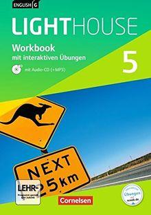 English G LIGHTHOUSE - Allgemeine Ausgabe: Band 5: 9. Schuljahr - Workbook mit CD und interaktiven Übungen