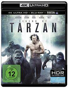 Legend of Tarzan (4K Ultra HD) [Blu-ray]