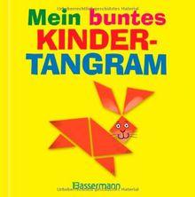 Mein buntes Kindertangram-Set: Tiere, Menschen und noch mehr. Buch und 7-teiliges Holztangram