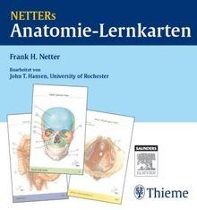 Netters Anatomie-Lernkarten (Korr. Neuausgabe). Das Lern-Tool für Prüfung und Präp-Kurs
